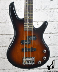 Ibanez GSRM20 Mikro Short-Scale Bass Guitar Brown Sunburst Rosewood Fretboard