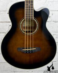 Ibanez AEB10E Acoustic-Electric Bass Dark Violin Sunburst