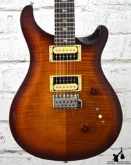 2017 PRS SE Custom 24 Tobacco Sunburst w/ Bag (14421)