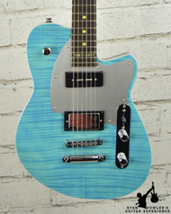 Reverend Double Agent OG 20th Anniversary Sky Blue Flame Maple