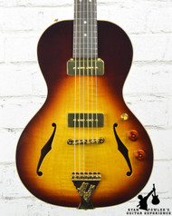 B and G Crossroads Little Sister Non-Cutaway Sunburst w/ Bag