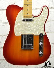 2010 Fender American Deluxe Ash Telecaster Sienna Sunburst w/ OHSC