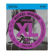 D'Addario EXL120 .009-.042 Super Light