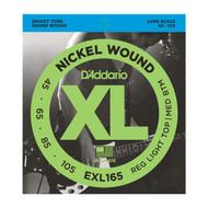 D'Addario Bass EXL165  45-105 Long Scale