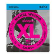 D'Addario EXL120+ .0095-.044 Super Light Plus