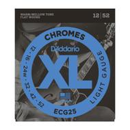 D'Addario ECG25 Chromes .012-.052 Light