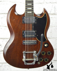 1973 Gibson SG Standard Faded Cherry Red w/ OHSC