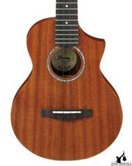 Ibanez UEWT5 Exotic Wood Tenor Acoustic Ukulele Open Pore Natural