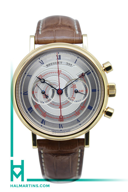 Breguet Classique Manual Winding Chronograph - 18K Rose Gold - Ref. 5247