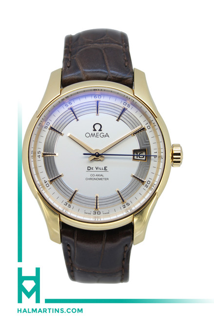 Omega 18K Rose Gold DeVille Co-Axial Hour Vision - White Dial - Ref. 431.63.41.21.02.001