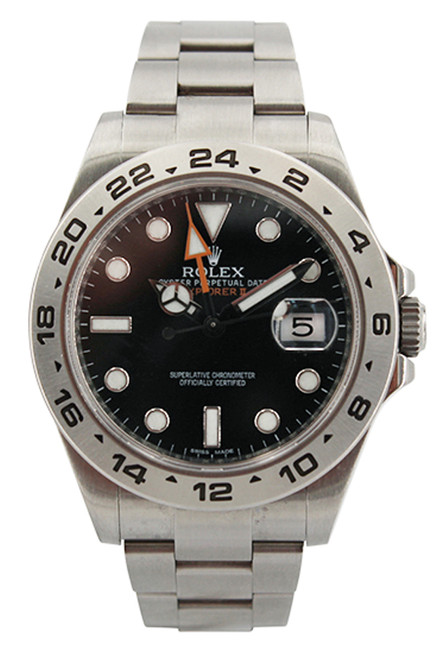 Rolex Stainless Steel GMT Master II - 41mm - Black Dial - Ref. 216570