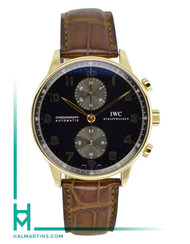 IWC Portuguese Rose Gold Chronograph IW371482
