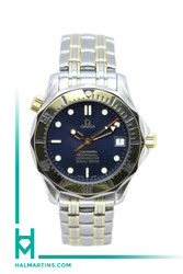 Omega Seamaster 300m Mid-Size Two Tone Automatic - Ref. 168.1502/368.1502
