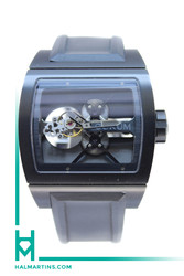 Corum Titanium Ti-Bridge Tourbillon - Black Rubber Strap - Ref. 022.700.941/F371 000