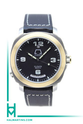Anonimo Opera Mecano D-Date 2 Two Tone - Black Dial and Strap - Ref. 2026
