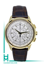 Patek Philippe 175th Anniversary Multi-Scale Yellow Gold Chronograph - White Dial - Ref. 5975J
