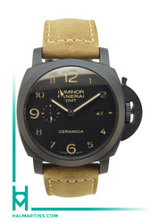 Panerai Luminor GMT Black Ceramic - Black Dial - Ref. PAM 441