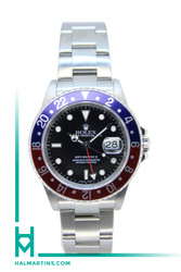 Rolex Men's SS GMT Master 2 - Blue and Red Pepsi Bezel - Ref. 16710