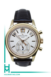 Patek Phillipe 18K RG Complications Annual Calendar - White Dial - Ref. 5960R