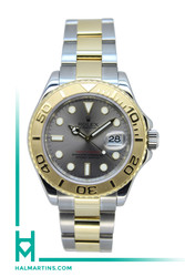 Rolex Two Tone Men's YachtMaster - Slate Dial - Ref. 16623