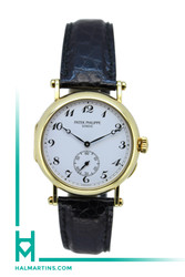 Patek Philippe Calatrava 150th Anniversary Yellow Gold - White Arabics Dial - Ref. 3960J