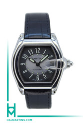 Cartier Men's SS Roadster Automatic - Grey Concentric Dial - Ref. 2510