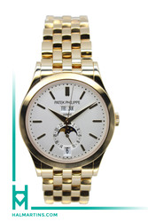 Patek Philippe Complications Annual Calendar Automatic - Silver Dial - Ref. 5396/1R