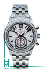 Patek Philippe Complications Stainless Steel Annual Calendar Chronograph -  White Dial - Ref. 5960/01A