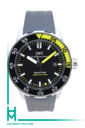 IWC Stainless Steel Aquatimer 2000 - Black Dial and Rubber Strap - Ref. IW356810