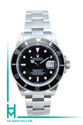 Rolex Stainless Steel Submariner Date - Black Dial - Ref. 16610 (Item 11749)