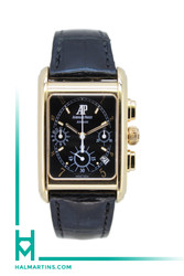 Audemars Piguet Edward Piguet 18k Rose Gold Chrono - Black Dial - Ref. 259250R