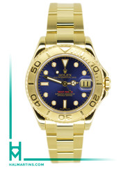Rolex Yellow Gold Yachtmaster - Blue Dial - Ref. 16628
