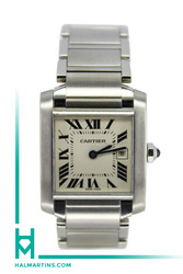 Cartier Tank Francaise - Stainless Steel Midsize 25x30mm