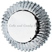 Baking Mini Cups Silver Foil