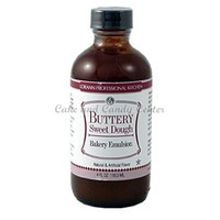 Buttery Sweet Dough Natural & Artificial Bakery Emulsion -4 oz.