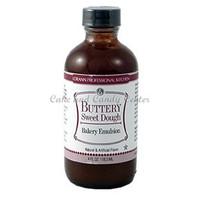 Buttery Sweet Dough Natural & Artificial Bakery Emulsion -4 oz.