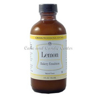 Lemon Natural Bakery Emulsion-4 oz.