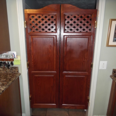 Swinging Kitchen Doors