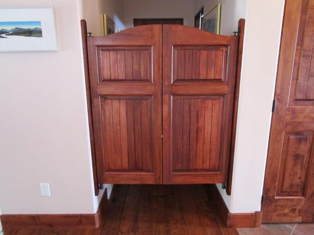 Solid poplar beadboard cafe doors saloon doors two panel beadboard 24 36 door openings - Cafe swinging doors kitchen ...