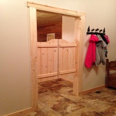 Kitchen Swing Door