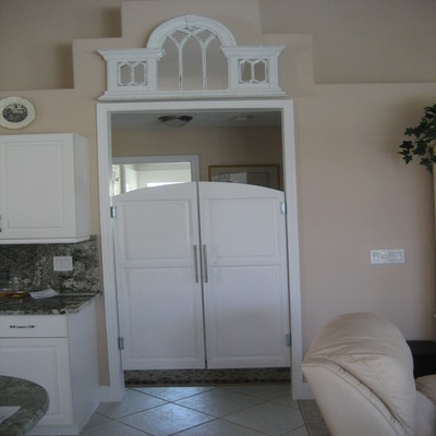 Custom Kitchen Double Swing Cafe | Saloon Doors from Swinging Cafe ...