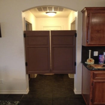 Laundry Room Swinging Doors