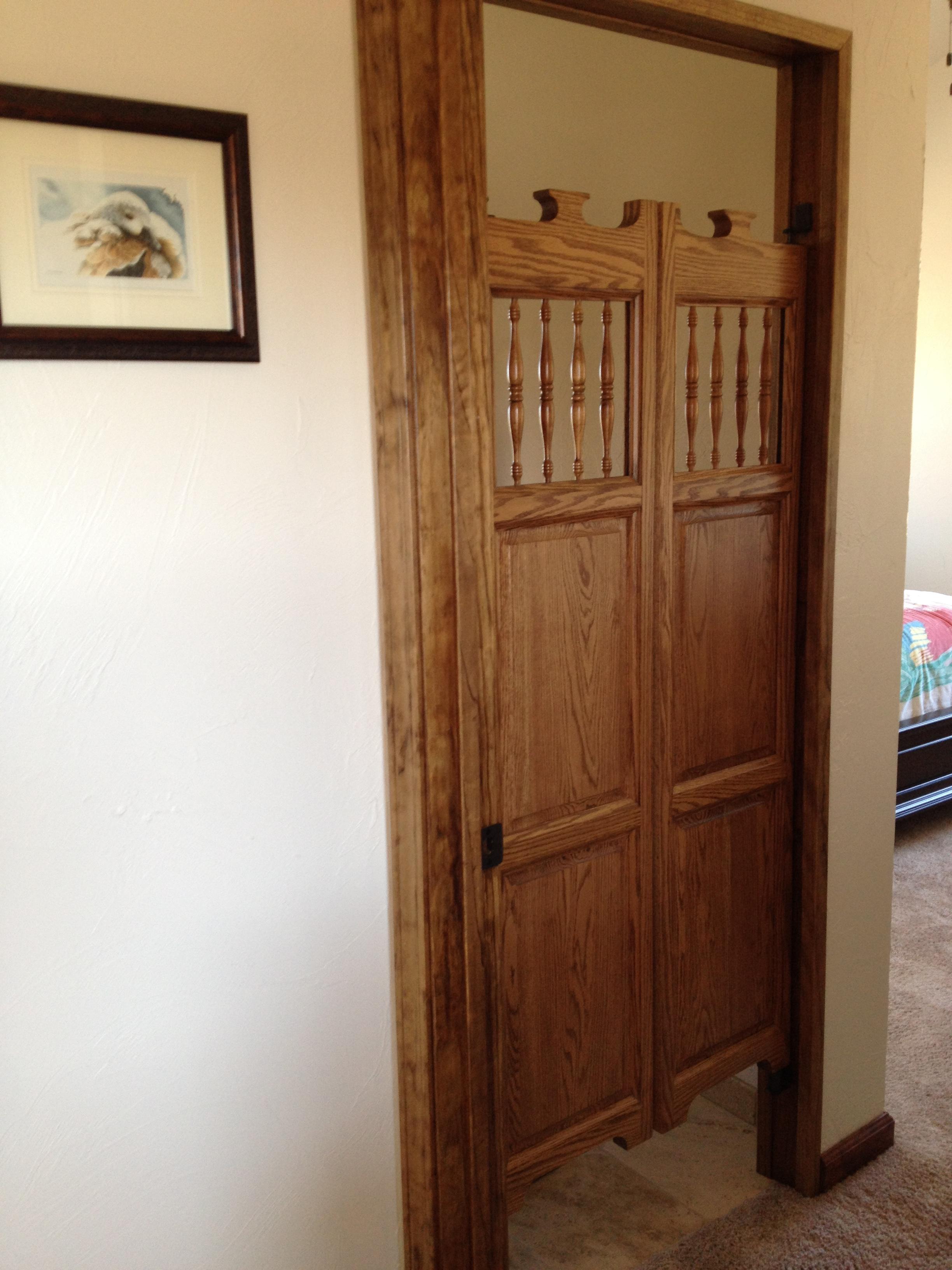 old-western-saloon-doors-finished.jpg & Old Western Oak Cafe Saloon Doors (2 ft - 3 ft Door Openings) Pezcame.Com