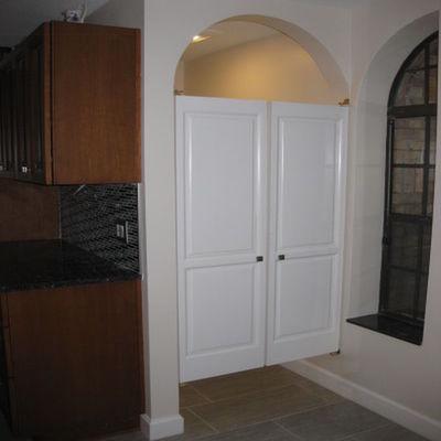 Solid poplar western saloon doors cafe doors 42 in 48 in door openings - Cafe swinging doors kitchen ...