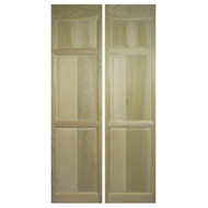 Full Length Saloon / Cafe Doors Oak (24in-36in Door Openings)