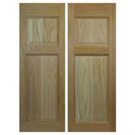 "Commercial Swinging Oak Cafe / Saloon Doors (24""-36"" Door Opening)"