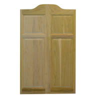 "Single Center Arch Cafe Door/Saloon Door (24""-32"" Door Openings)"