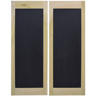 "Chalkboard Cafe / Saloon Door (30"", 32"", 36"" Door Openings)"