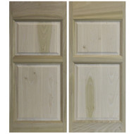 "Solid Poplar Saloon | Cafe Doors 24""-36"" Door Opening"