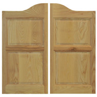 "Custom Ash Swinging Saloon Doors (24"" - 36"" Door Openings)"